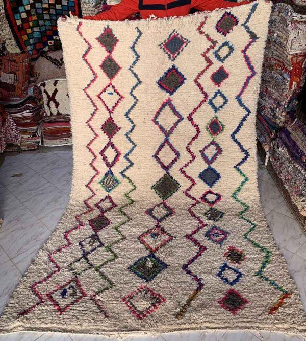 a Modern Medina Vintage Berber rug Ourika