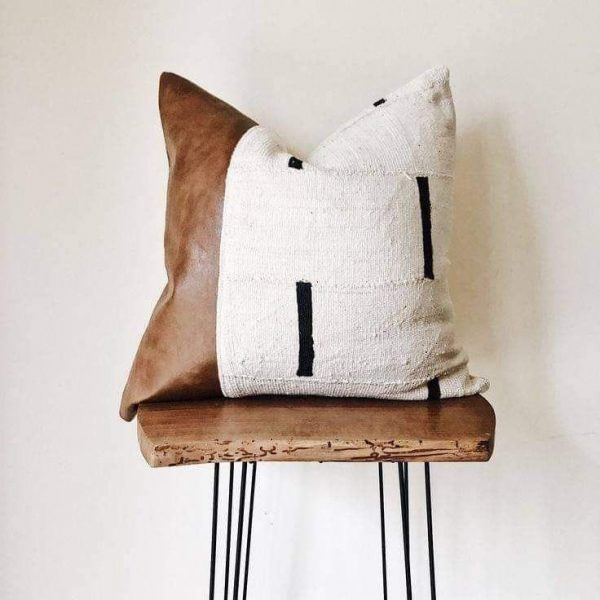 Rugs Leather PILLOW cushion