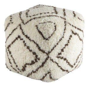 square rug pouf beni ourain pouf