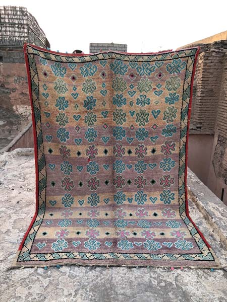 boujad vintage moroccan rugs