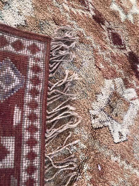 boujad moroccan vintage carpet