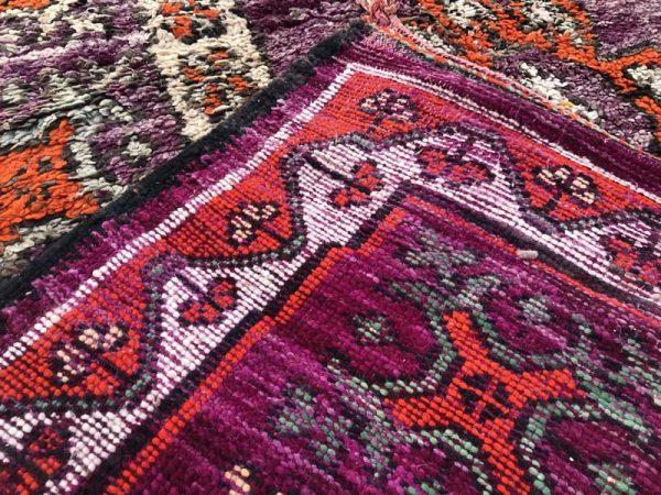 vintage moroccan carpet runner