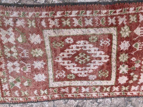 red rugs boujad vintage carpet
