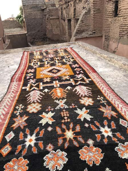 runner vintage boujad rugs