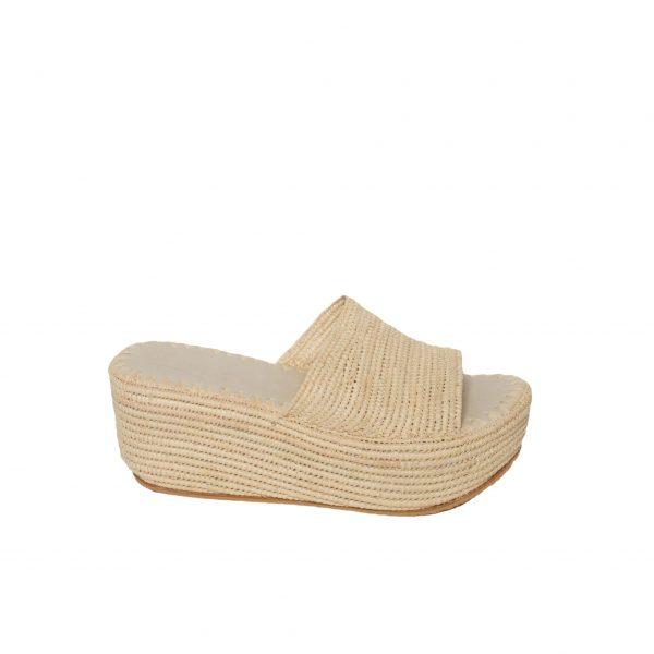 summer raffia shoes