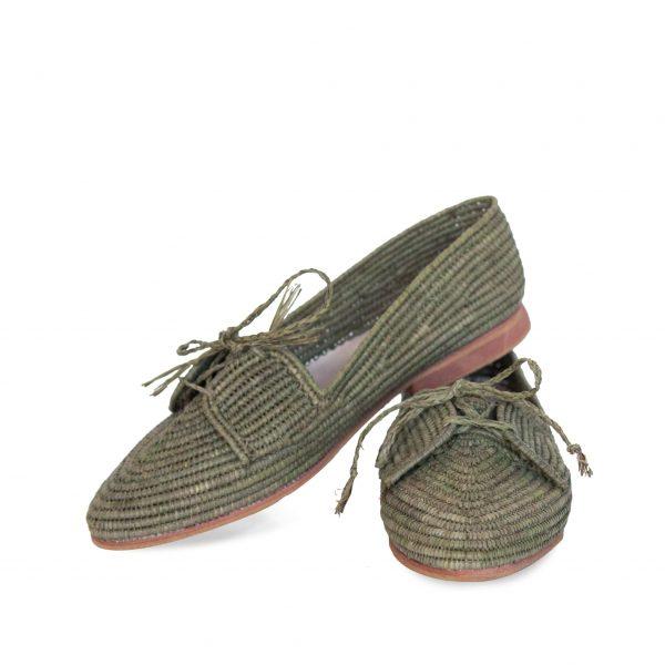 mens moroccan raffia shoes