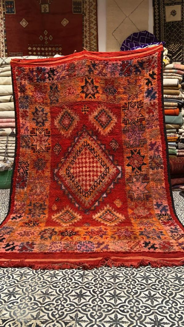 vintage red rug