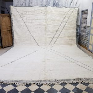 Large beni ourain carpets