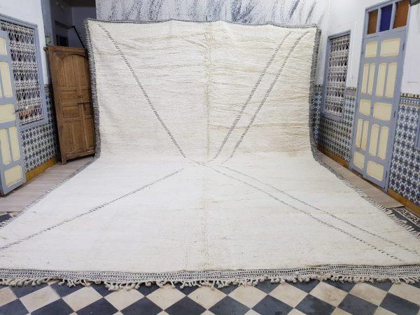 Large beni ourain carpets