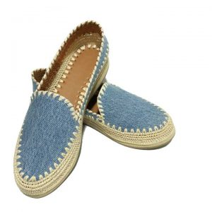 moroccan jeans raffia shoes