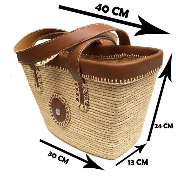 Raffia Basket Bags