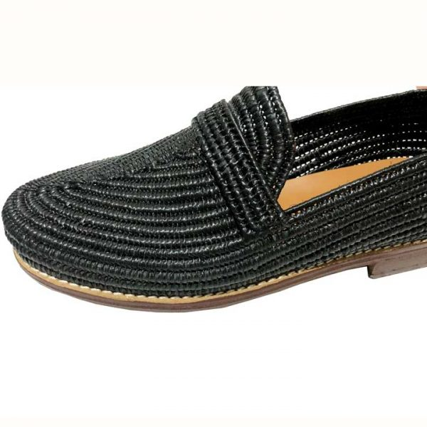 raffia shoe for men