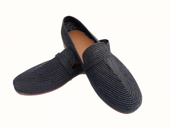 raffia shoes men