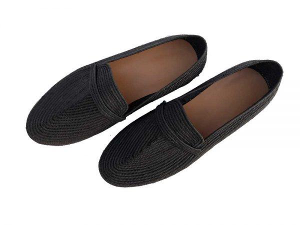 black men raffia shoes