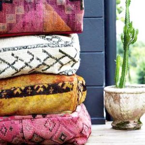 Moroccan Floor Pillows & cushions