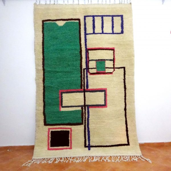 azilal rug irregular pattern