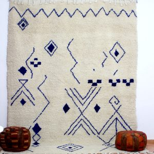 azilal blue pattern rugs