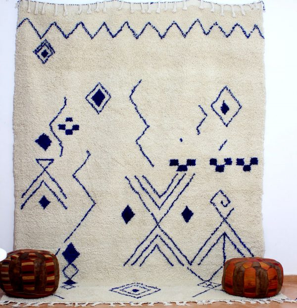 azilal blue pattern rugs