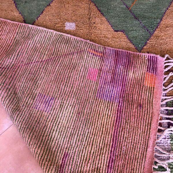 Brown rug vintage