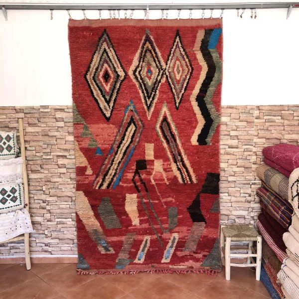 moroccan red rugs