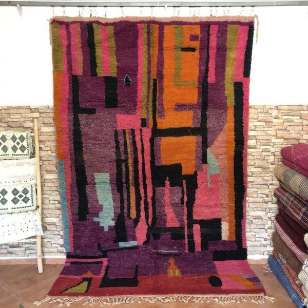 multicolor moroccan rugs