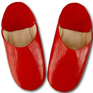 red-leather-babouche
